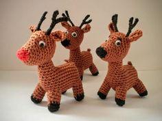 Christmas Deer  - ToyMagic Сrochet Pattern [PDF instant download] by ToyMagic on Etsy https://www.etsy.com/listing/475195212/christmas-deer-toymagic-srochet-pattern
