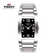 Generosi-T by Tissot è l'orologio dei contrasti. Il suo design è essenziale, ma componenti e materiali sono preziosi e tecnologicamente avanzati.