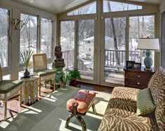 Spaces Enclosed Porch Design, Pictures, Remodel, Decor and Ideas - page 3
