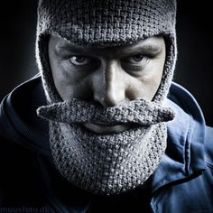 Grandpa Edition Grey Beard Head  ( I want one for the winter : )