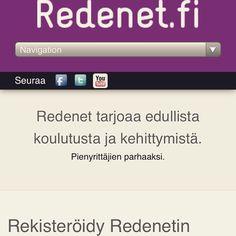 Redenet - pienyrittäjän työkalut arkeen.