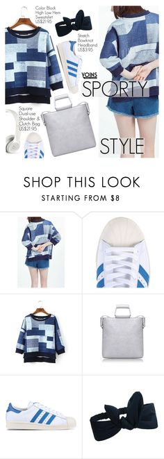 """""""Yoins 30:Sporty Style"""" by pokadoll ❤ liked on Polyvore featuring adidas Originals, Beats by Dr. Dre and yoins"""