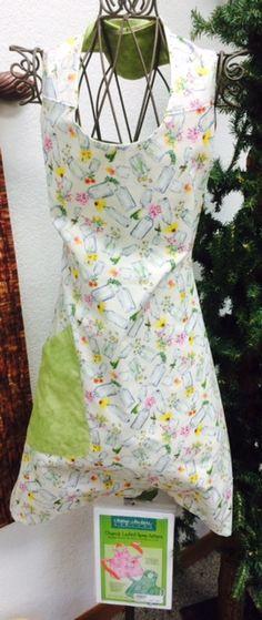 Church Ladies Apron in 2014 MN Shop Hop Fabric