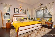 Mid Century Style Bedroom (de Savio and Rupa Interior Concepts )