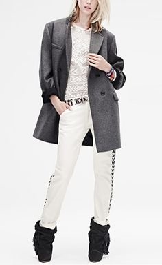 Isabel Marant for H&M Grey Coat