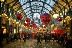 Planning on visiting London this winter? Make sure to check out some of these locations for true London holiday experience London Attractions, London Restaurants, London Shopping, London Travel, Christmas Shop Displays, Weihnachten In London, London Tips, London Christmas, Christmas Shopping