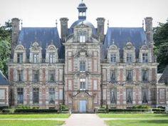Château de Beaumesnil - Façade du château de style Louis XIII