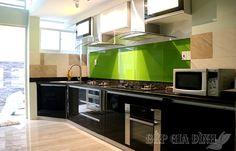 Hình ảnh tủ bếp đã thi công nhà anh Minh ở quận 6