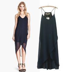 2014 летом новый европейский и американский поддержка женщин маленький камзол платье юбка платье Платье шифон - Taobao
