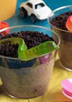 Dirt Cups – When Grandma said everyone eats a bushel of dirt in their lifetime, she never imagined it would be so chocolaty good.