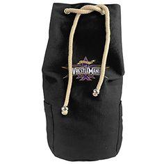Cool Cool WrestleMania XXX Basic Logo Drawstrings Gym Backpack Bag