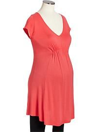 Maternity Cap-Sleeve Tunics