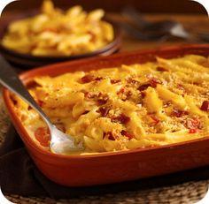 Recipe with Progresso Recipe Starters Three Cheese: Bacon Mac & Cheese
