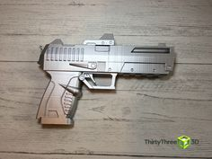 Excited to share one of the latest additions to my #etsy shop: Borderlands Style Pistol, 3D Printed, (Unofficial) #borderlands #fantasy #fantasygun #fantasyweapon #costume #comiccon #gamer #3dprinted #ultimaker #prusa #thirtythree3d #gift #replica #replicaweapon #giftideas