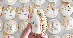 We all love macarons, and we all love unicorns, right? Well, the universe has come together in A Union of Awesome to create you got it - Unicorn Macarons!