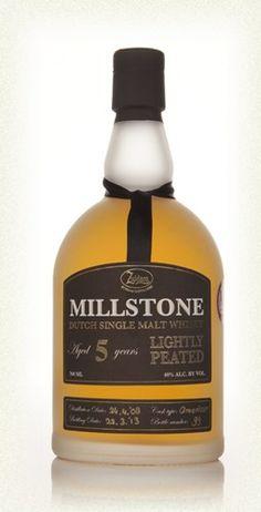 Millstone 5 Lightly Peated Dutch Single Malt Whisky. Tasted on a whisky festival.