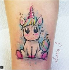 Birthday unicorn omggggg next piece in my sleeve . - birthday e .- Birthday unicorn omggggg next piece in my sleeve … – Birthday unicorn omggggg next piece in my sleeve 💕😩❤️😱 – Tattoos – # – Badass Tattoos, Sexy Tattoos, Body Art Tattoos, Small Tattoos, Tattoos For Guys, Water Color Tattoos, Tattos, Hand Tattoos, Disney Tattoos