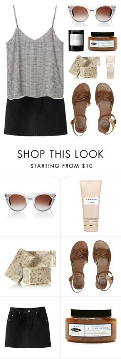 """""""Small Talk He Drives"""" by cigerett on Polyvore featuring Thierry Lasry, Carven, Kahina Giving Beauty, Billabong, de-luxe and Byredo"""