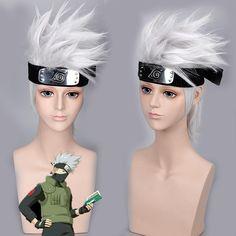 Naruto Hatake Kakashi Cosplay Wig (Headwear NOT Include)