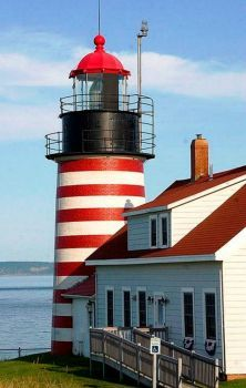 West Quoddy Head Lighthouse, Maine (77 pieces)
