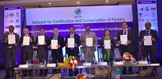 Co-develops India's Forest Management Certification Standard in Association with Ministries, Forest Departments, Industry and Forest Conservation, Forest Department, Government Agencies, Paradigm Shift, Certificate, Management