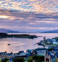 The Grand View of Oban & beyond, Scotland.