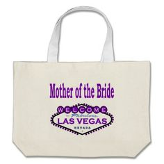 Keep Calm I/'m the Mother of the Bride Purple Natural Cotton Shoulder Bag