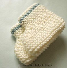 Baby Knitting Patterns baby booties beginner knitting pattern...