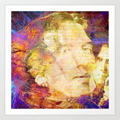 Oscar Wilde Art Print by ganech - $16.64