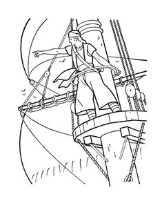 printable caribbean pirates of the sea coloring pages of real pirates of the high seas for fun coloring pirates