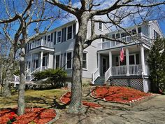 Large home with two porches & two decks, water views Yarmouth, Cape Cod vacation rental on WeNeedaVacation.com ID 24967