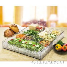 Cal-Mil - 1398-12 - Cater Choice 32 in x 24 in Ice Housing | eTundra