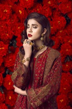 Ethnic By Outfitters Valentine Day Collection 2017 http://www.womenclub.pk/ethnic-outfitters-valentine-day-collection-2017.html #Ethnic #Outfitters#PreSummer #Collection #Valentine #Rose #Sale #Formal #Lehenga #Collection #Dresses #Pret