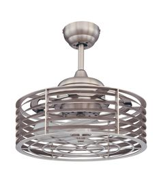 Great small ceiling fan for unusual spaces  Savoy House 14-325-FD-SN Ceiling Fan   Capitol Lighting 1-800lighting.com