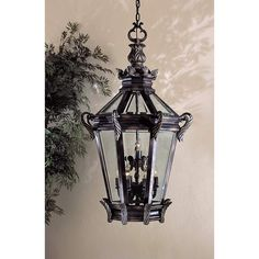 """MINKA LAVERY Stratford Hall 46 1/2"""" High Outdoor Hanging Fixture $2875 + AN EXTRA 15% OFF AT CHECKOUT - USE PROMO CODE: HELLOFALL19 FREE SHIPPING OR PICK UP - WEBSITE: GlowOnSunset.Net"""