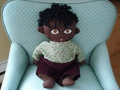 African Boy Doll Custom Birth or Adoption by Meoneil on Etsy, $45.00