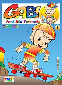 Gabi And His Friends 01: Comic (English Edition) eBook: Moacir Torres, Júlio Magá, Marina Salla: Amazon.com.br: Loja Kindle