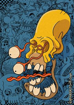 Desenhe o Homer | Des1gn ON - Blog de Design e Inspiração.