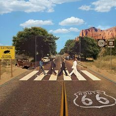 The Beatles, Abbey Road: Route 66