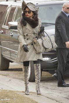 Cookie Lyon's Style on Empire | POPSUGAR Fashion
