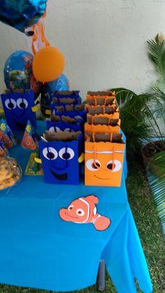 Birthday Crafts, 1st Boy Birthday, 3rd Birthday Parties, Birthday Ideas, Family Birthdays, Finding Nemo, Birthday Party Boys, Kids Birthday Surprises, Finding Dory