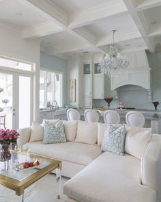 We like coastal living! Here we attempt to catch the essence of getting the perfect coastal decor for your home with a collection of objects and way of living House Design, Beach House Decor, Interior Design, House Interior, Living Decor, House, Interior, Home Decor, Coastal Living Rooms