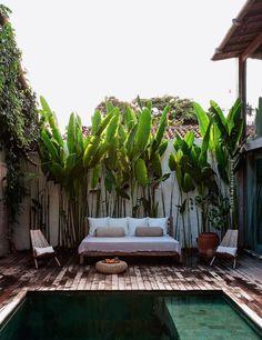 ideias de como deixar o quintal mais bonito.