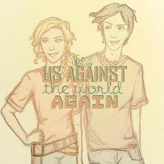 us against the world (again) Percy & Annabeth