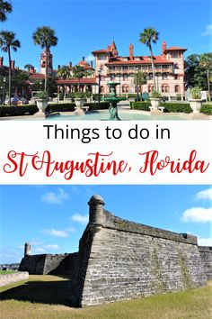 Are you planning on visiting St Augustine, Florida? This travel guide will help you plan the perfect trip. From tips on how to get there, where to stay to best things to do in St Augustine. With plenty of attraction, you can easily spend 2-3 days in St Augustine. #StAugustine #Florida #USA Places In Florida, Florida Usa, Florida Vacation, Florida Travel, Usa Travel, Travel Advice, Travel Guides, Travel Tips, Us Travel Destinations