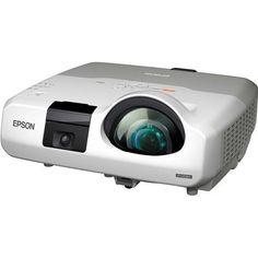 Epson Brightlink 436WI 3000 Lumens Wxga LCD Projector, Yellow