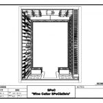 Wine Cellars - Check out this new uniquely designed custom wine cellar installed Memphis Tennessee Wine Cellar Design, Memphis Tennessee, Wine Cellars, Top View, Illinois, Woods, Chicago, 3d, Watch