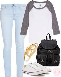 first day of school outfit tumblr - Cerca con Google