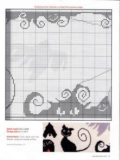 cat and jack o lantern chart 2