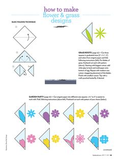 Origamil Easter eggs template